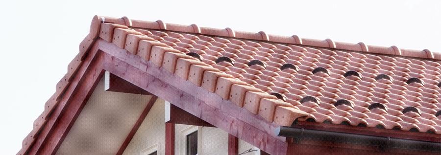 北海道の瓦屋根工事
