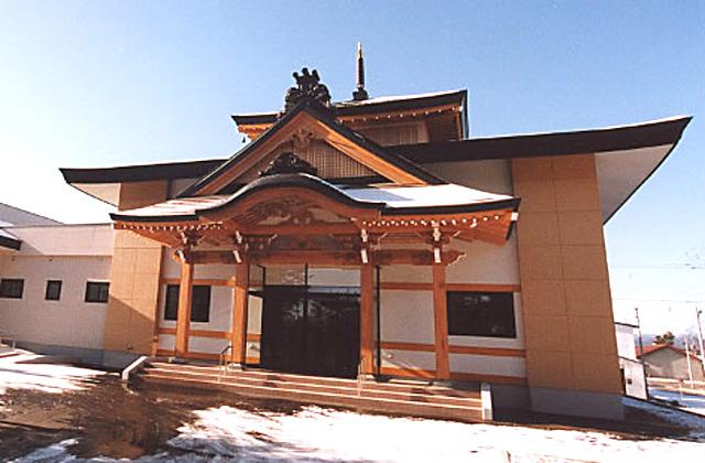写真:留辺蘂町 報恩寺(1)