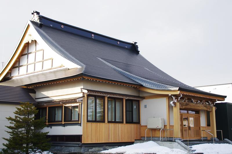 写真:栗山町 教覚寺(1)