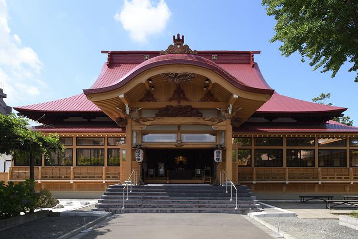 写真:札幌市豊平区 経王寺(1)