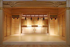写真:札幌市 琴似神社祖霊社建替え(3)