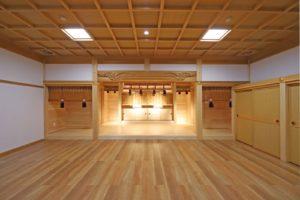 写真:札幌市 琴似神社祖霊殿建替え(3)