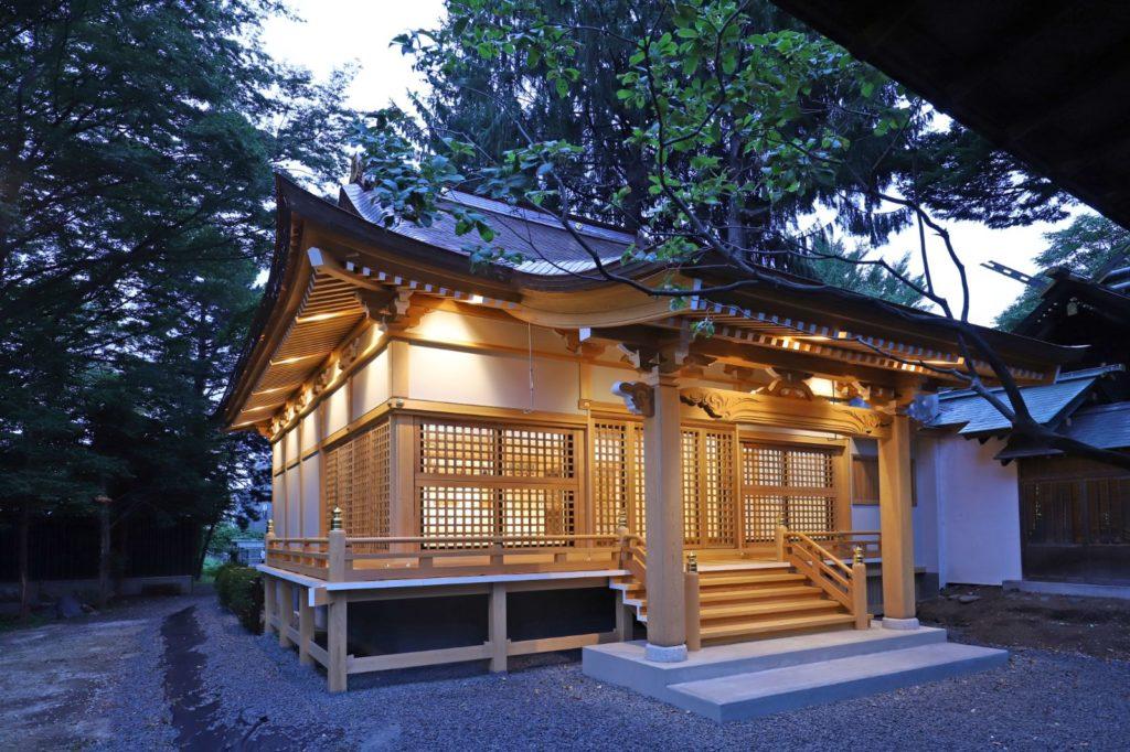 写真:札幌市 琴似神社祖霊社建替え(1)