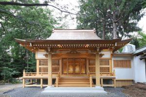 写真:札幌市 琴似神社祖霊社建替え(2)